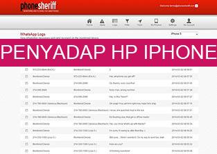 aplikasi penyadap HP dengan PhoneSheriff sadap chating BBM whatsapp, facebook, line dan skype