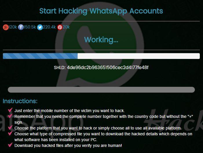 Hack Whatsapp Dengan aplikasi penyadap