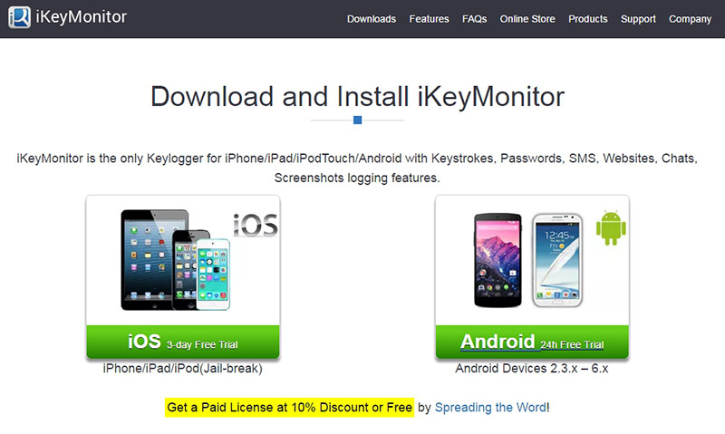 penyadap hp Android & iPhone ikeymonitor